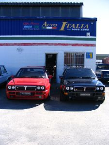 Lancia Delta Evolutione 1 + Integrale